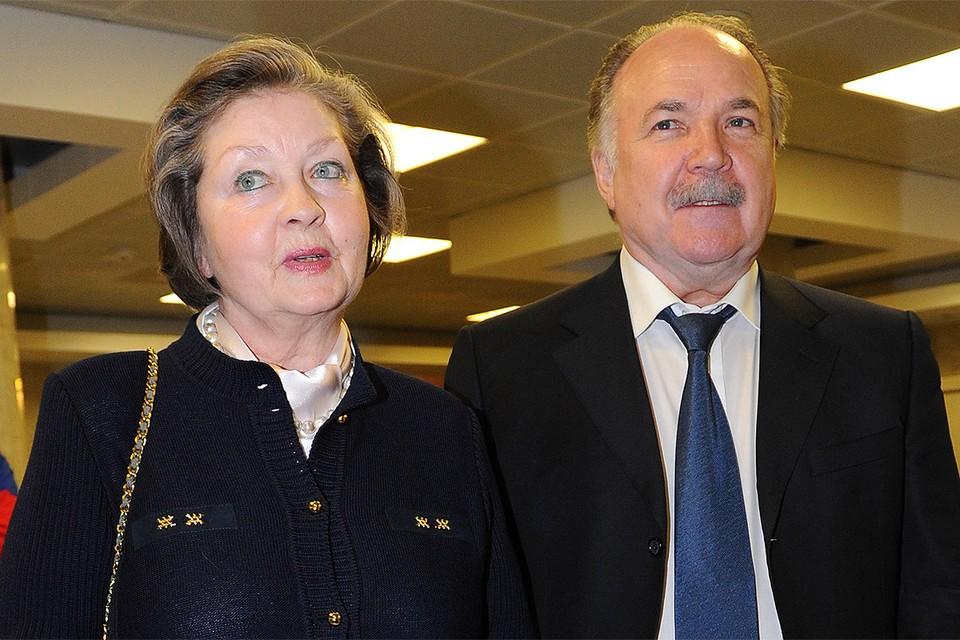 Жанна Болотова с супругом Николаем Губенко.
