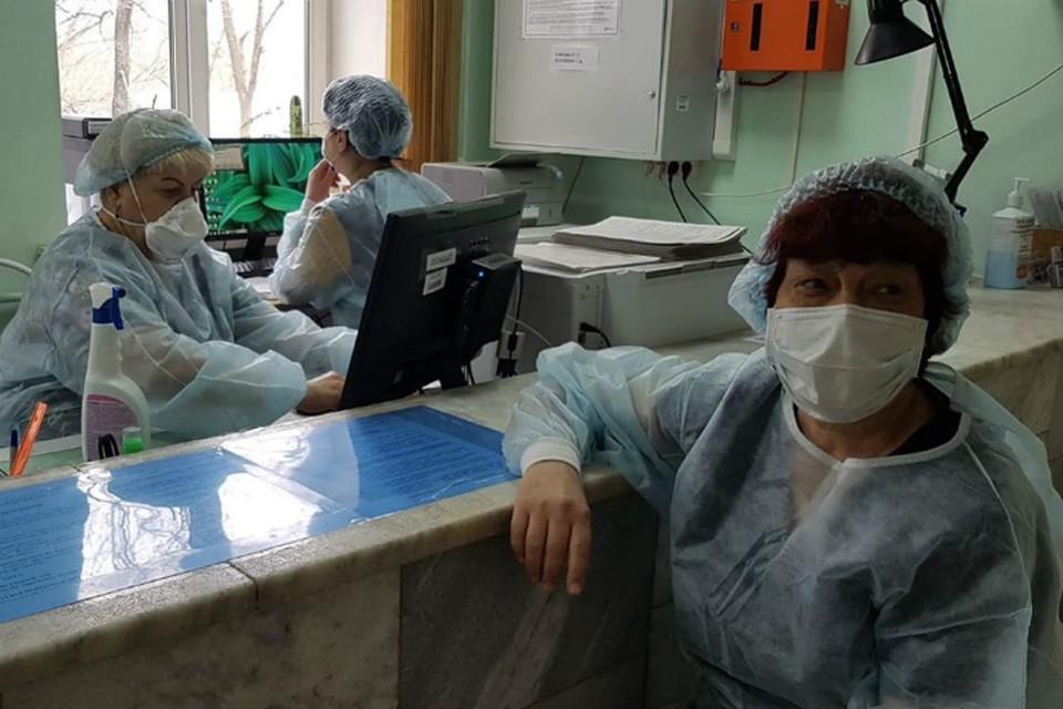 Фоторепортаж из инфекционного госпиталя сделали в Хабаровске ФОТО: Минздрав Хабаровского края