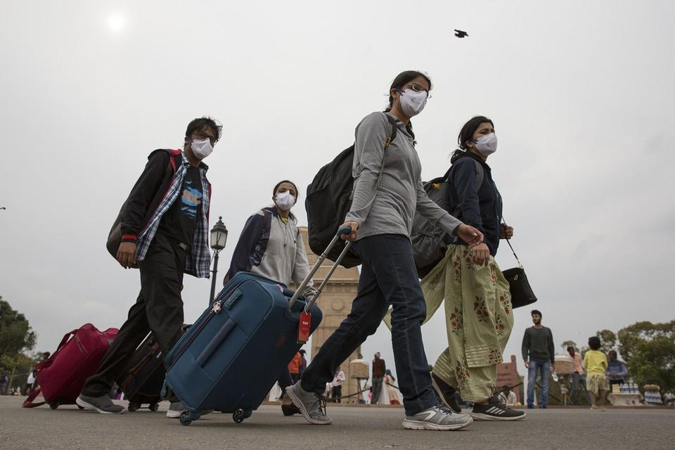 Положение туристов, застрявших в Индии из-за коронавирусной блокады, остаётся тяжёлым