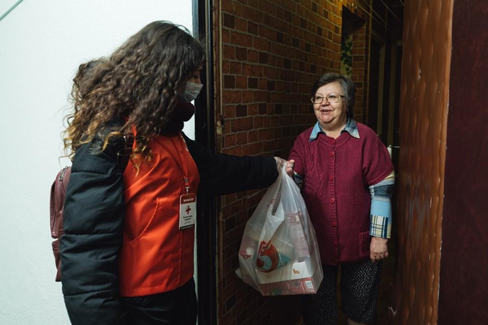 Волонтеры из движения #МыВместе поблагодарили тех, кто помогает людям