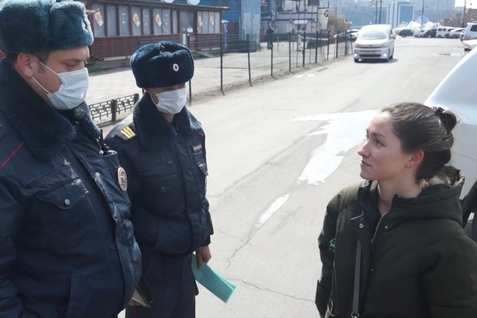 Чаще всего горожане отвечают, что вышли подышать воздухом. Фото: сайт МВД по ПК