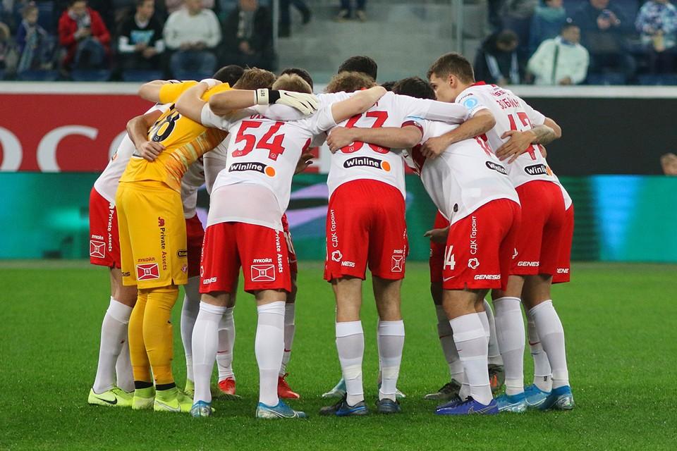 В России «Спартак» стал первым клубом, объявившем о сокращении зарплат