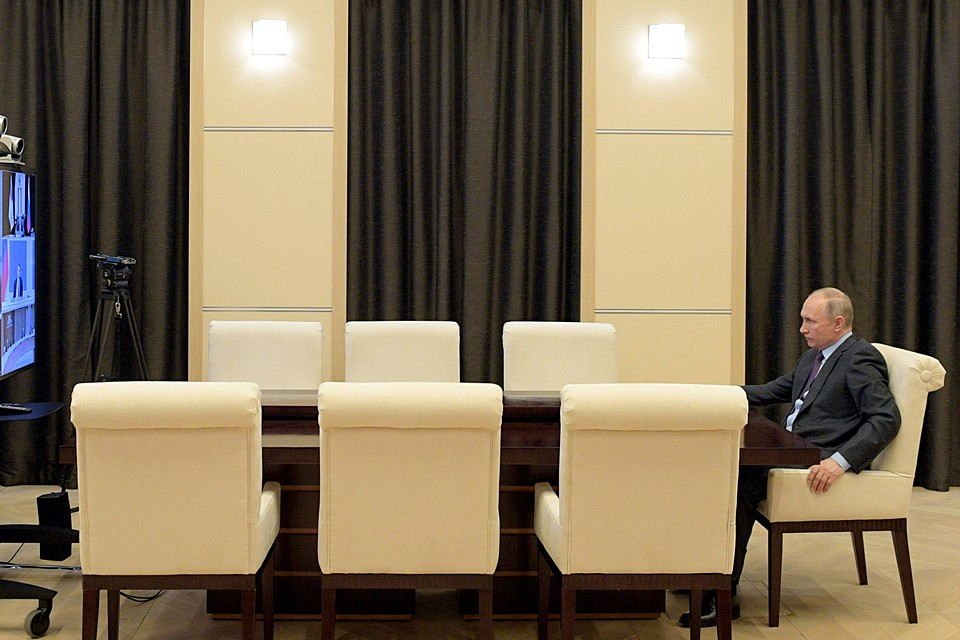 Президент констатировал, что в ситуация остаётся сложной. Фото: Алексей Дружинин/ТАСС