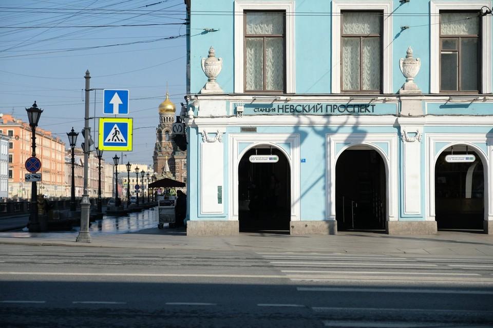 Санкт-Петербург опустел