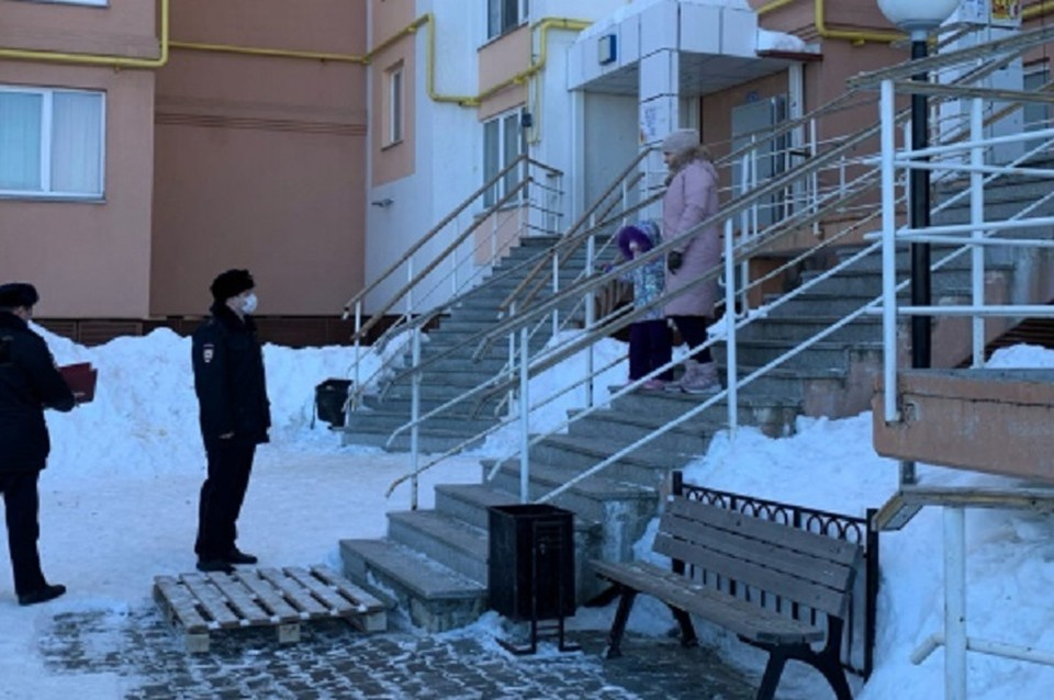 На Ямале коронавирусом заразились восемь полицейских Фото: salekhard.org