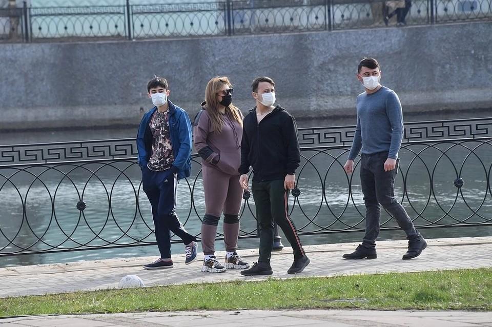 Гулять в Москве на время режима изоляции запрещено