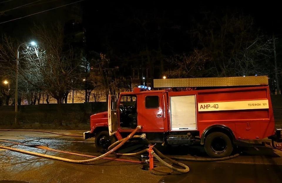 В Москве произошел пожар в доме престарелых