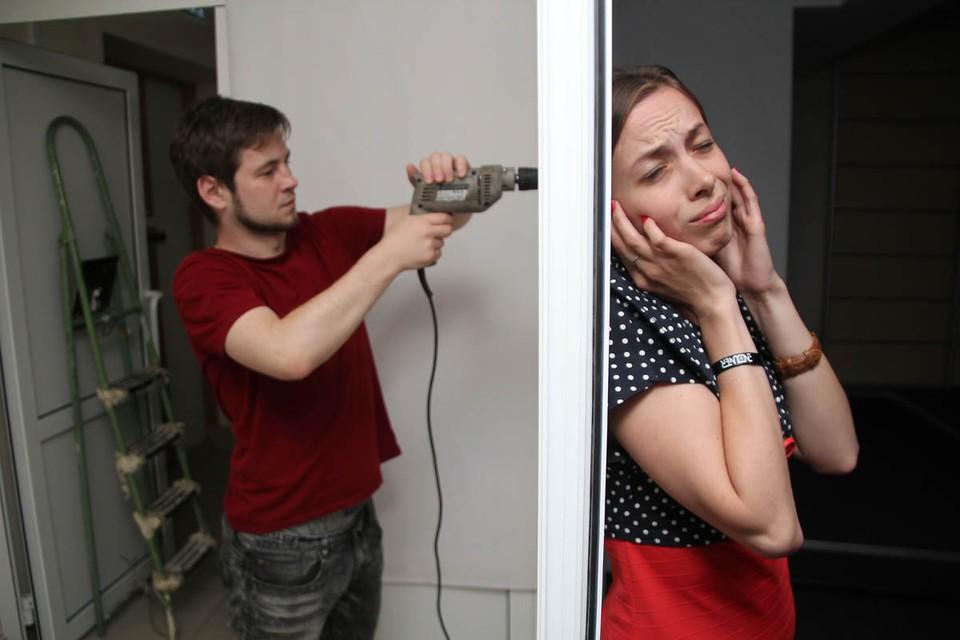 В период самоизоляции некоторые горожане затеяли, будто назло соседям, ремонт.