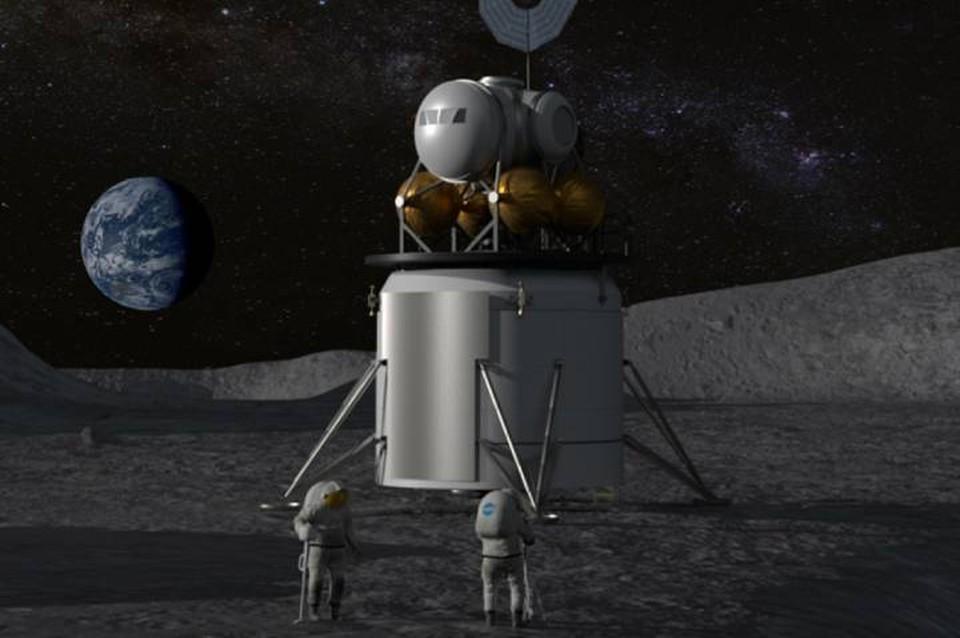 Американцы планируют вернуться на Луну в 2024 году.