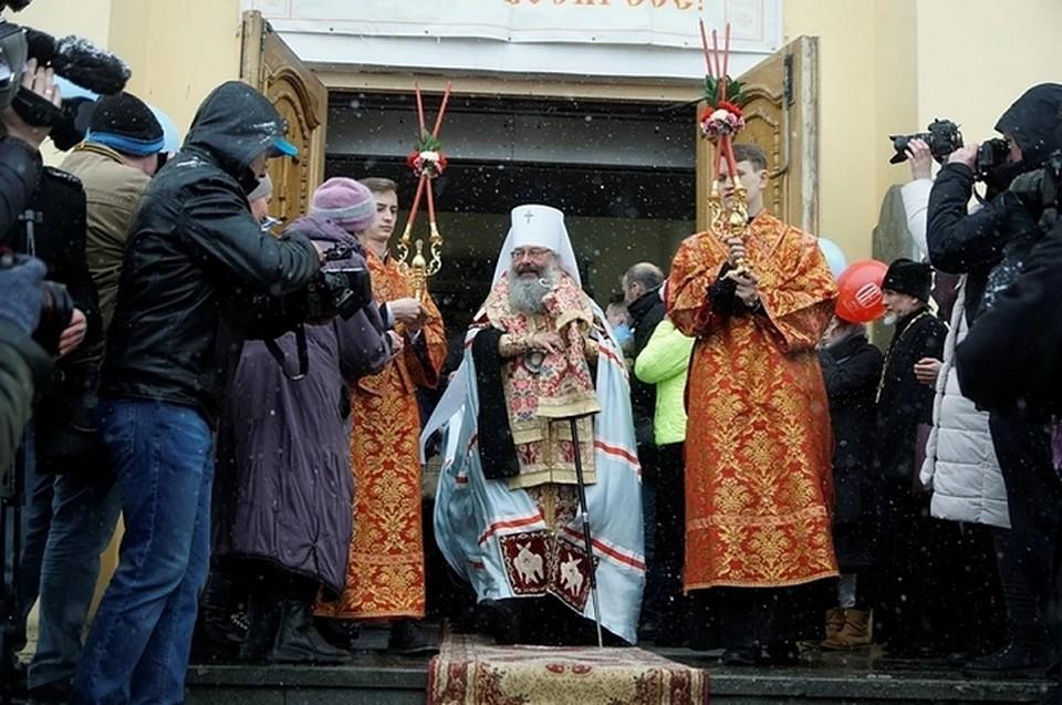 Главное Богослужение проведет митрополит Екатеринбургский и Верхотурский Кирилл