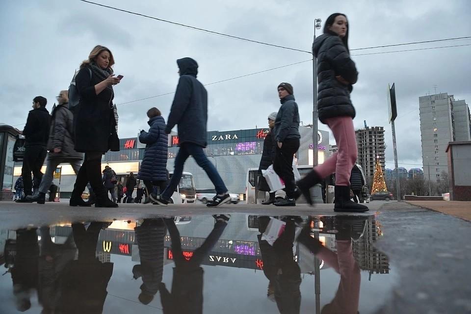До выходных в столичном регионе будет ветрено и дождливо