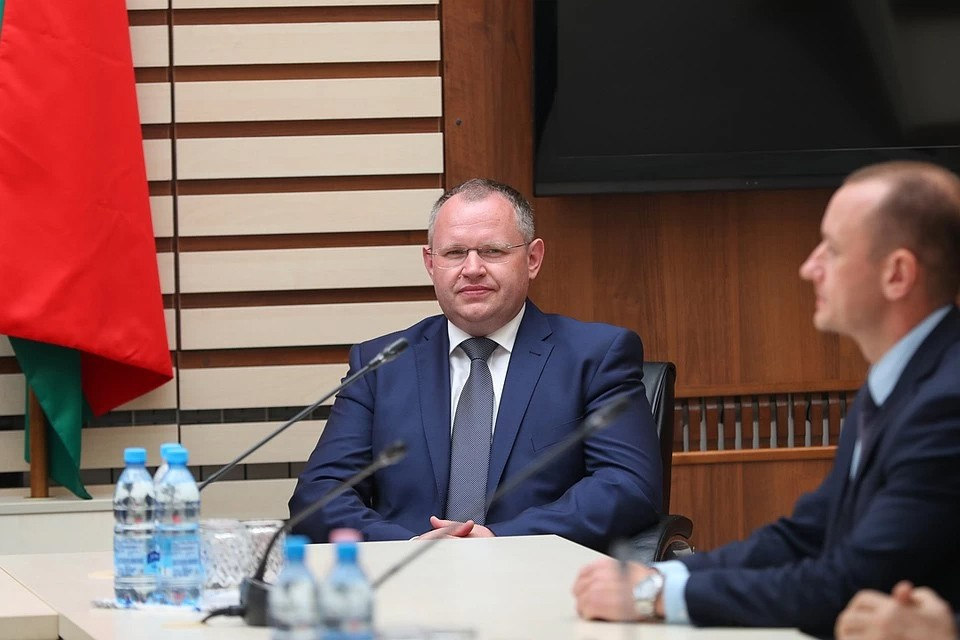 Министр финансов Максим Ермолович. Фото: БелТА.