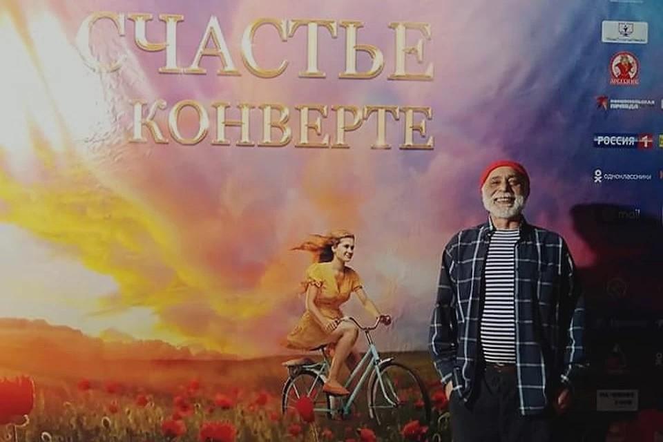В картине, где рассказывается три истории, одну из главных ролей исполнил заслуженный артист России, актер Тверского театра драмы Залим Мирзоев. Фото: из архива Залима Мирзоева