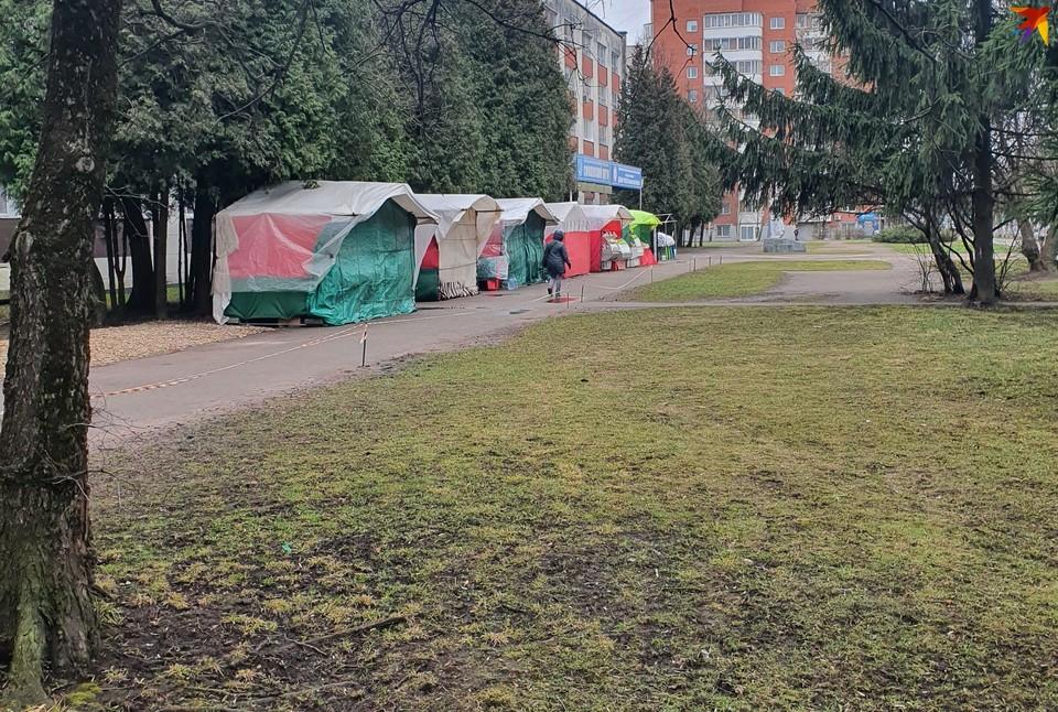 Ярмарку возле ЦНТИ в Смоленске закрыли. ФОТО: из архива издания.