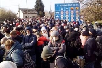 Давка на границе: Украинцы массово бегут из карантинной Европы