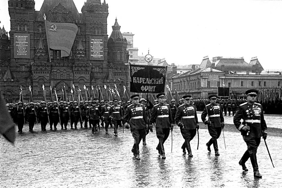 Парад победы в 1945-м состоялся 24 июня