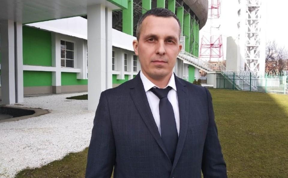 Андрей Марков. Фото: министерство спорта Краснодарского края