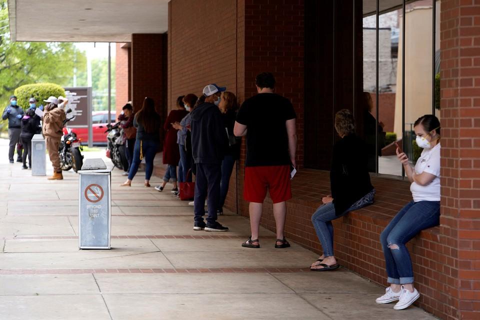 За последний месяц в США безработными стали 22 миллиона человек.