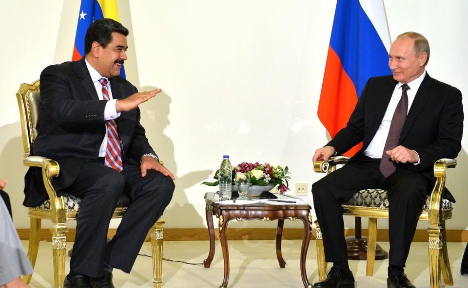 Путин и Мадуро отметили важность общих мер в борьбе с коронавирусом