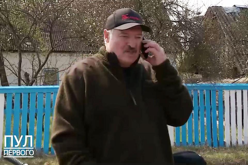 Лукашенко российскому миллиардеру: «Миша, больше ничего не надо. Приедешь – поговорим». Фото: телеграмм-канал «Пул Первого».