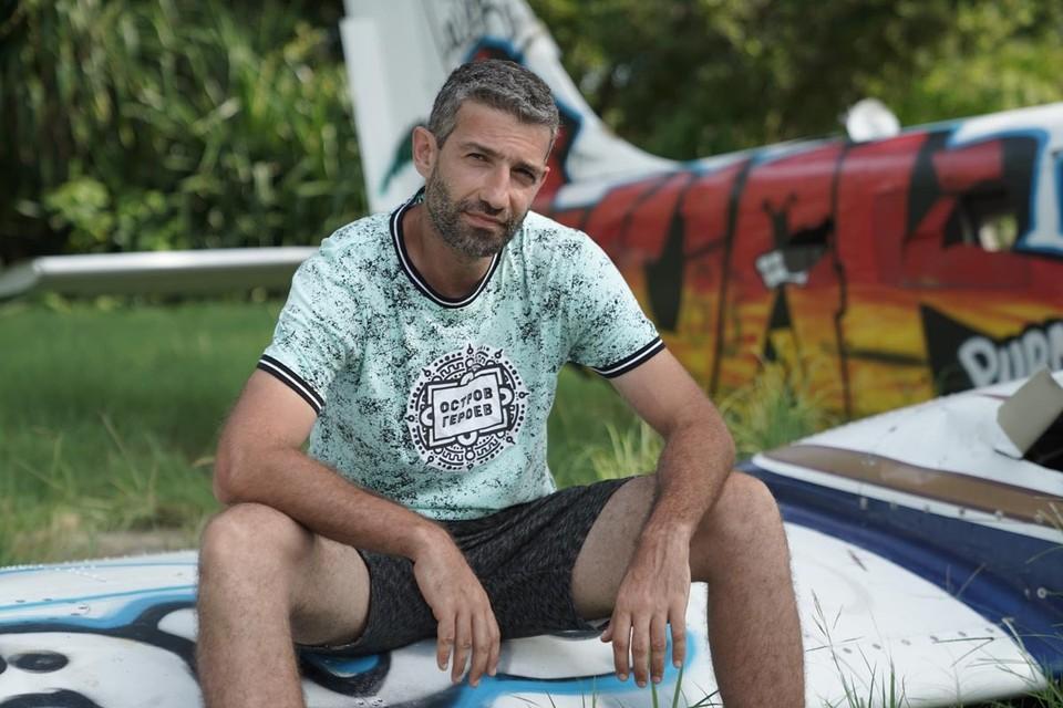 Таир Мамедов укрылся от коронавируса на необитаемом острове. Фото: ТНТ