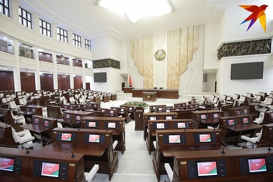 Депутаты Палаты представителей собрались в Овальном зале