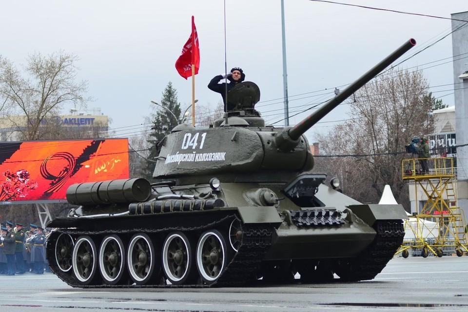 День Победы Новосибирск встречает в самоизоляции.
