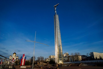 Монумент Славы: в память о тех, кто собирал Ил-2
