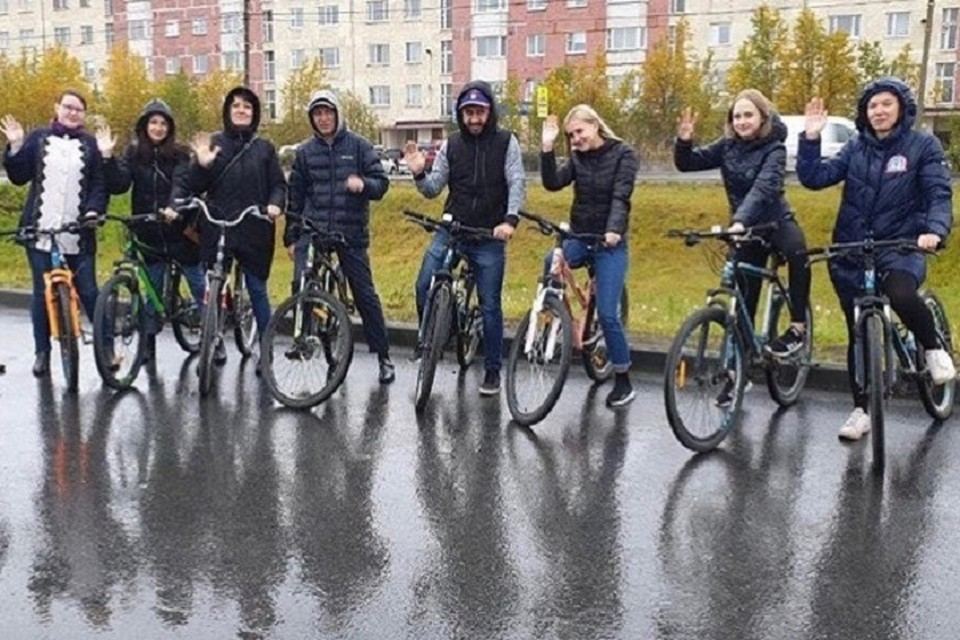 В Новом Уренгое пройдет всероссийская акция «На работу на велосипеде» Фото: Новый Уренгой | Официальная группа города vk.com