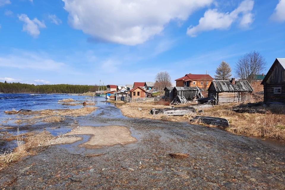 Дорогу к Ковде вновь размыло. Фото: МЧС по Мурманской области