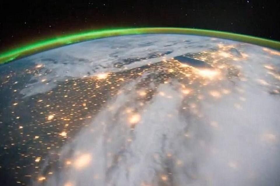 Даже из космоса видно, что воздух стал чище.