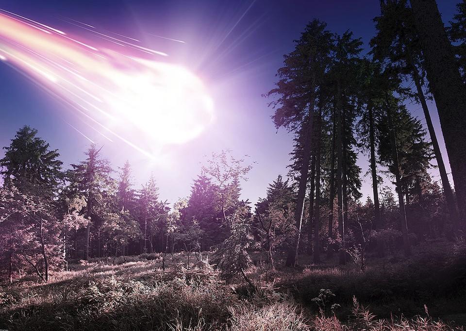 Тунгуcский метеорит упал в сибирской тайге 30 июня 1908 года.