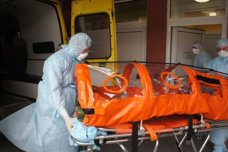 С начала пандемии коронавирус в Свердловской области подтвердился у более чем 3400 жителей. Фото: пресс-служба Городской клинической больницы №40 Екатеринбурга