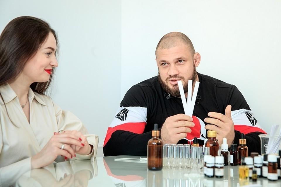 В коллекции есть ароматы для мужчин и женщин. Фото: пресс-служба Академии единоборств РМК
