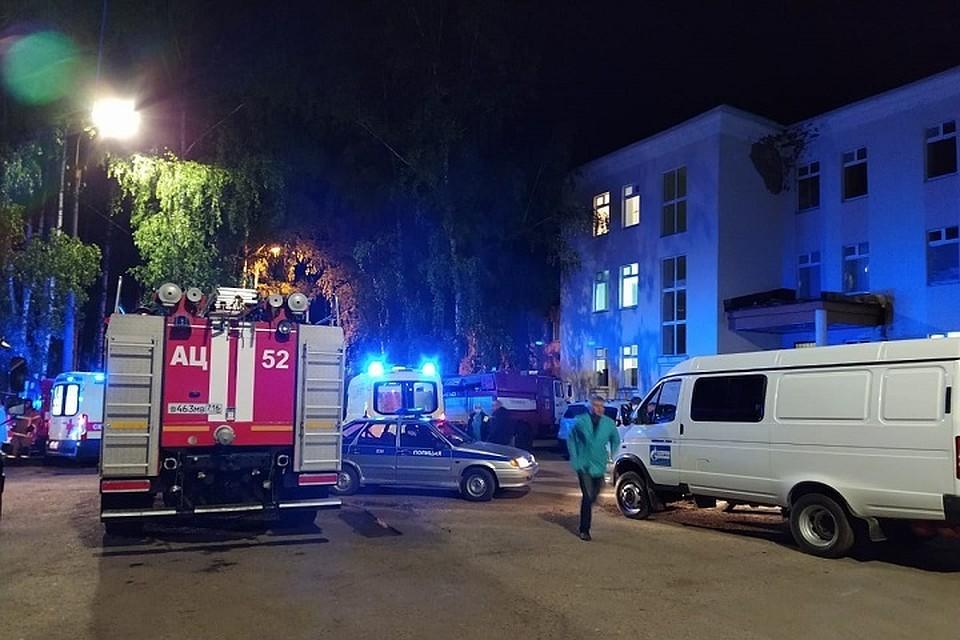 Было эвакуировано 88 человек.