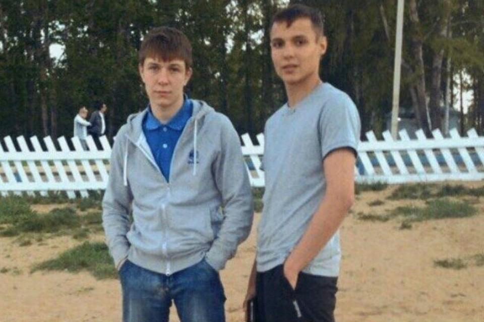 Виталий Лапин (справа) и Кирилл Родин. Фото: личный архив