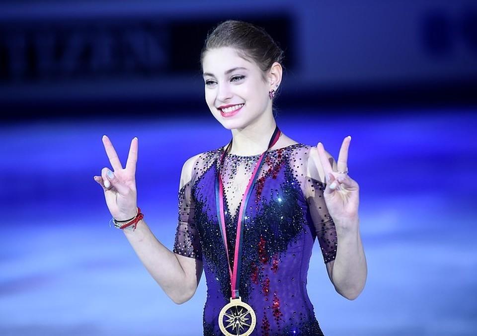 Победительница финала Гран-при и чемпионка Европы-2020 Алена Косторная