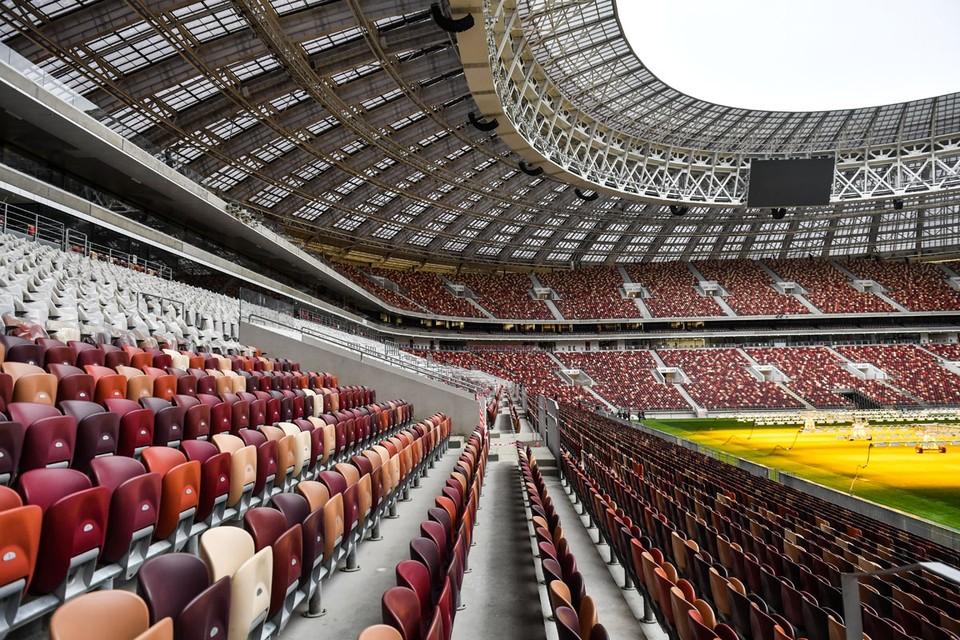 Заполняемость трибун должна быть не больше 10 процентов от вместимости стадиона