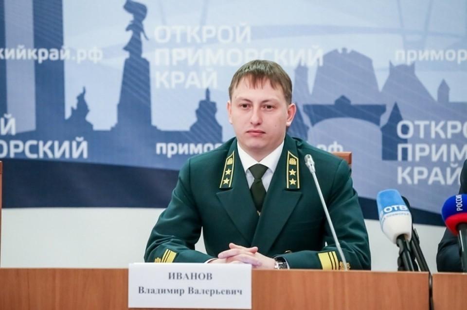 И.о. главы департамента лесного хозяйства края в 2016 году Владимир Иванов. Фото: пресс-служба администрации Приморья