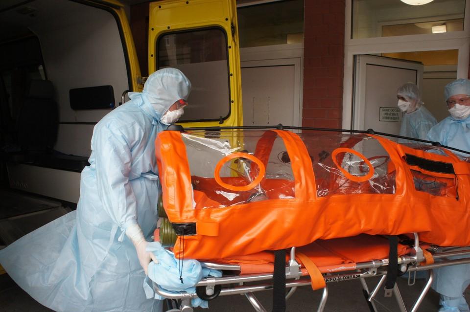 29 мая в Свердловской области коронавирус подтвердился еще у 230 человек. Фото: ГКБ №40