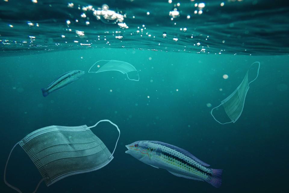 Масса масок может стать новой экологической проблемой. Фото: shutterstock.com.
