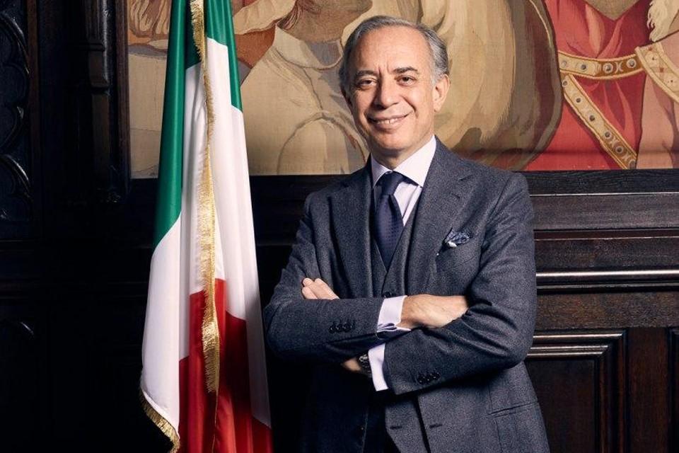 Посол Италии в России Паскуале K.Терраччано