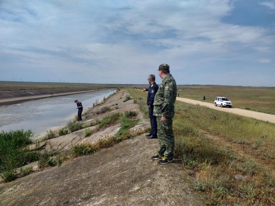 На поиски ребенка было направлено больше ста человек. Фото: Следком РФ по РК.