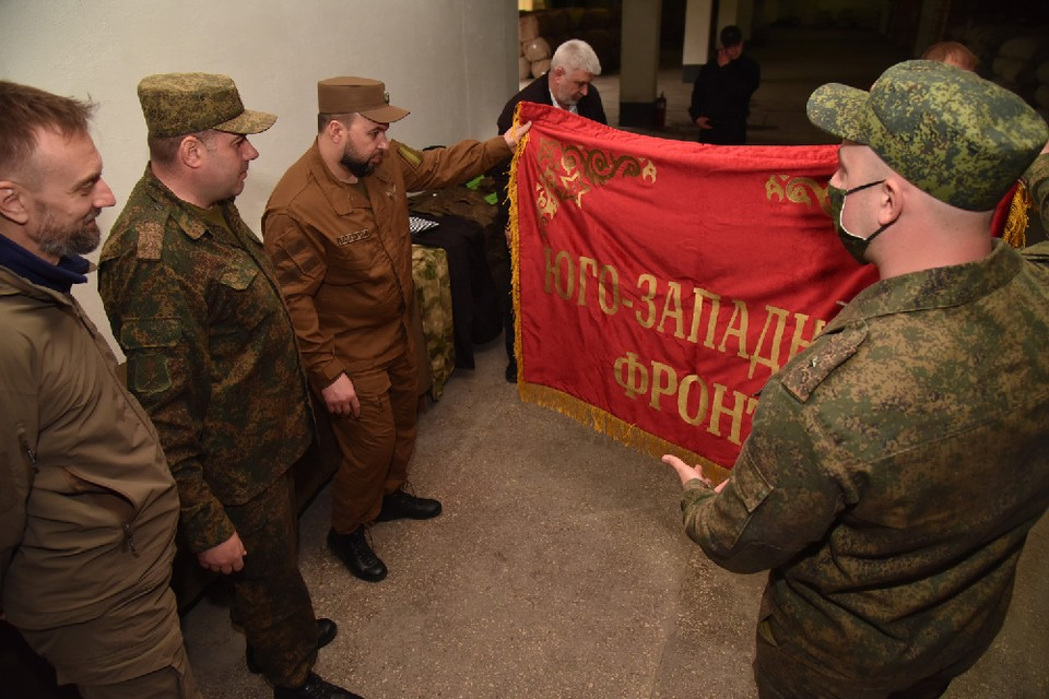 Денис Пушилин назвал дату проведения парада Победы в Донецке. Фото: denis-pushilin.ru