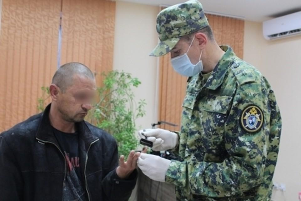 Задержанный написал явку с повинной. Фото: пресс-служба СКР