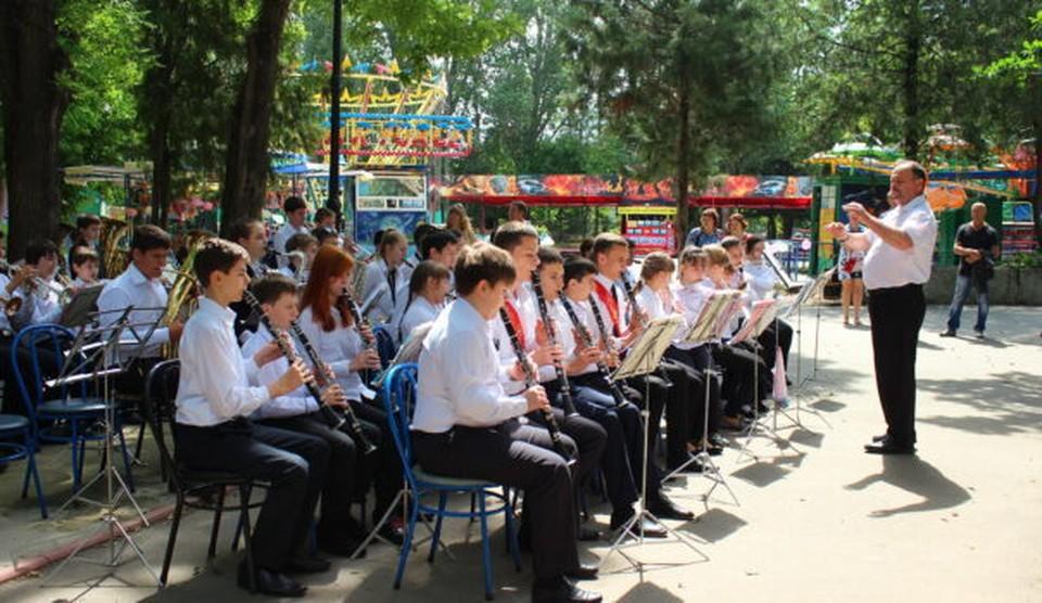 """Дирекция хочет приглашать выступать детские духовые оркестры. Фото: официальный сайт МБУК """"Детский парк""""."""