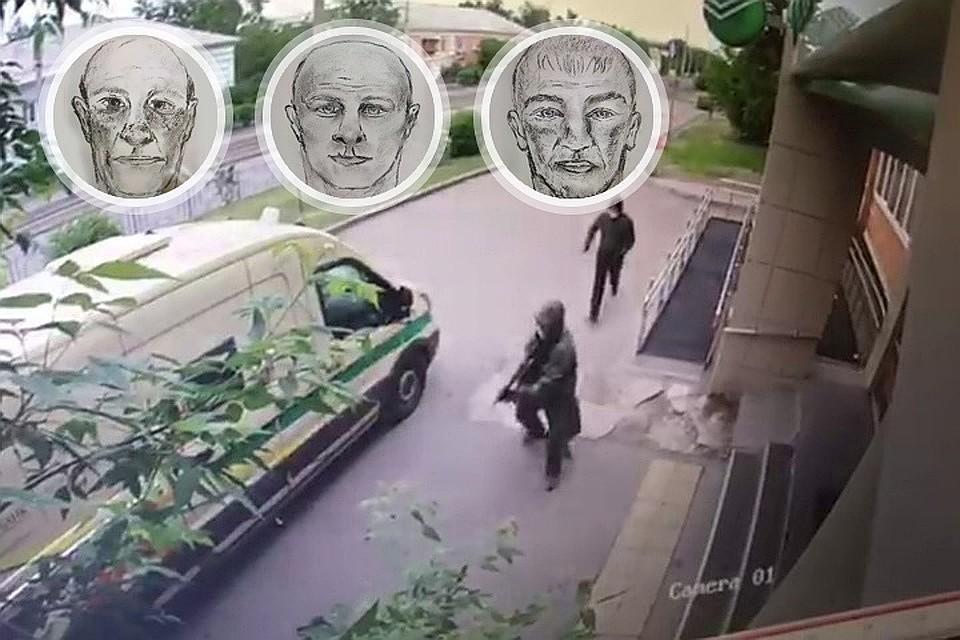 Полиция отследила передвижение по улицам Красноярска преступников, напавших на инкассаторов. Фото: краевая полиция