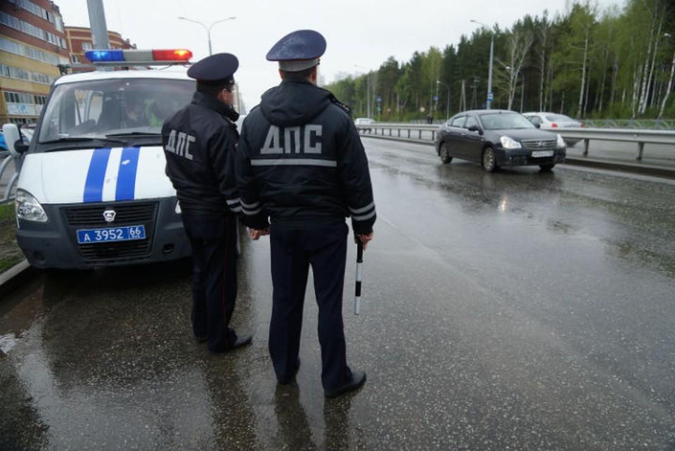 Сотрудницу полиции остановили для поверки документов
