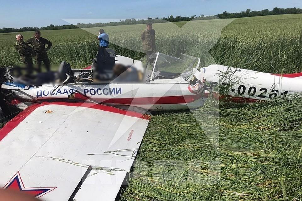 Опытный пилот и его курсант погибли при падении Як-52 в Самарской области
