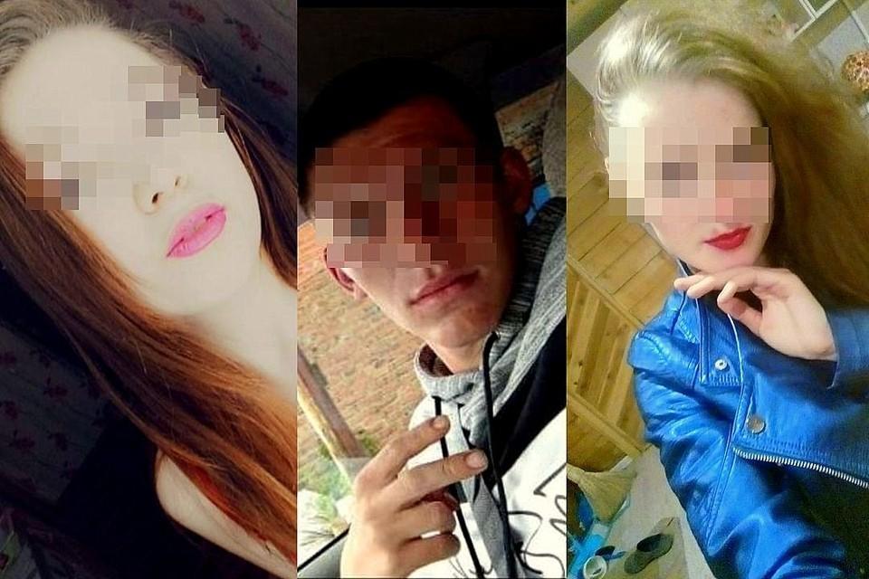 Девушку (слева) убили в лесу ее бывший и его новая пассия (справа). Фото: соцсети.